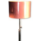 Vloerlamp met velourskap