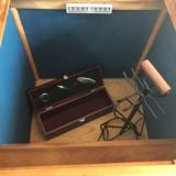 Teakhouten bureau