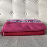 Griekse woonplaid roze