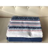 Griekse woonplaid wit