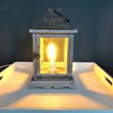 landelijke lamp incl. edison stijl lamp