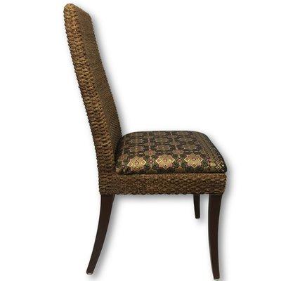 Batik zeegras stoel