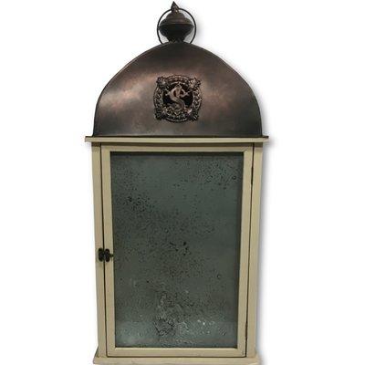 Grote klassieke windlicht - Antique look