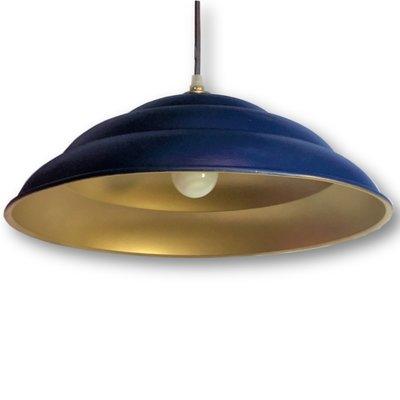 Industriële plafondlamp upcycled