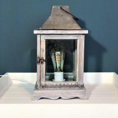 Landelijke Lantaarn incl. edison stijl led lamp