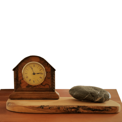 Rock around the clock decoratie mini klok