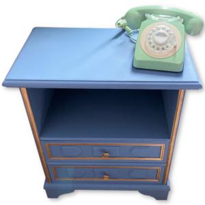 Vintage telefoonkast