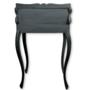 Klassiek bureautafel gerestyled charcoal black