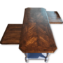 Landelijke gerestylede salontafel