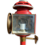 Koetslamp rood / koper